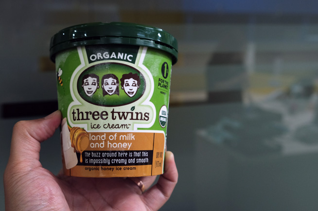 Three Twins ice cream from Mahota Commune