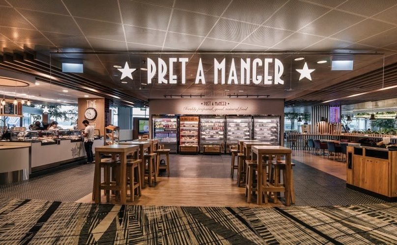 pret-a-manger at changi airport