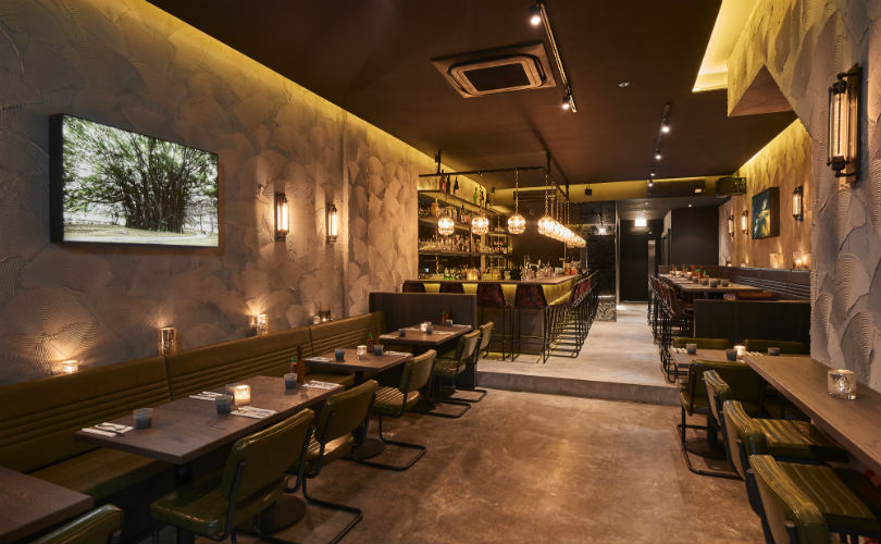 Ambient lighting in Butcher Boy sets the mood for a laid-back night