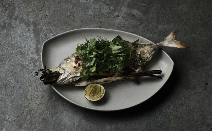Grilled fish, Vietnamese style - the perfect main for two (or one, given how good it is!)