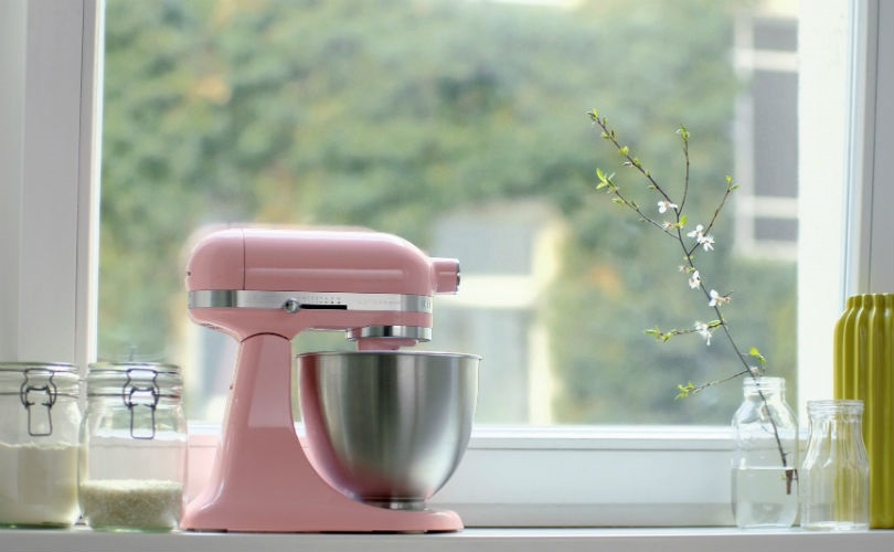 'Guava Glaze', the baby pink Mini Mixer