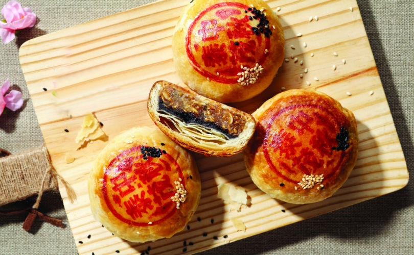 Thye Moh Chan's Double Delight Mooncakes - red bean paste and winter melon