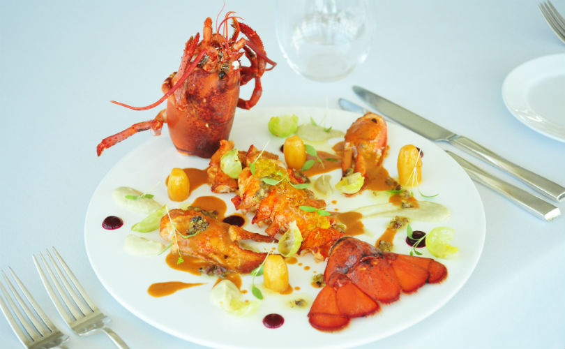 Grilled lobster from Forlino