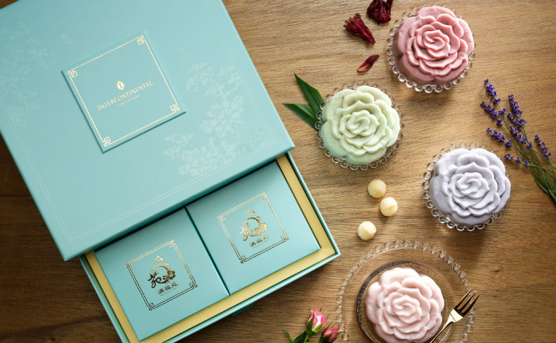 InterContinental Singapore wows with their floral mooncakes