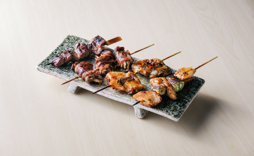 Tokyo Joe: yakitori sticks are perfect accompaniments to their premium alcohol collection