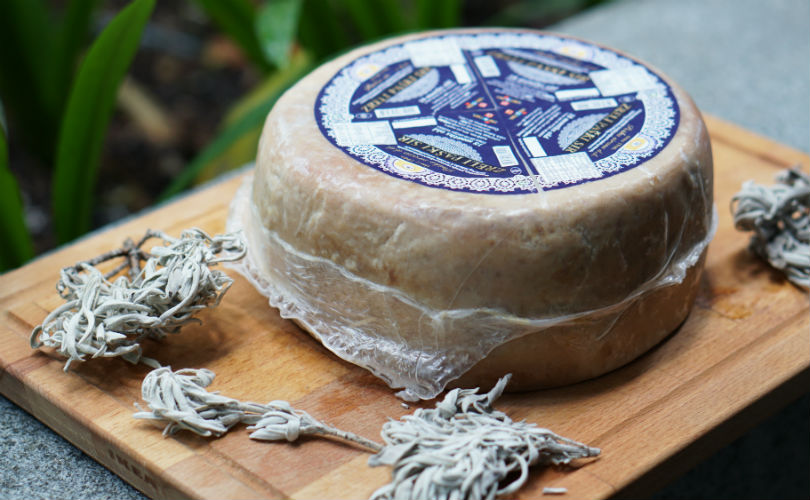 The Adriatic Pantry: Pag cheese wheel with dried sage