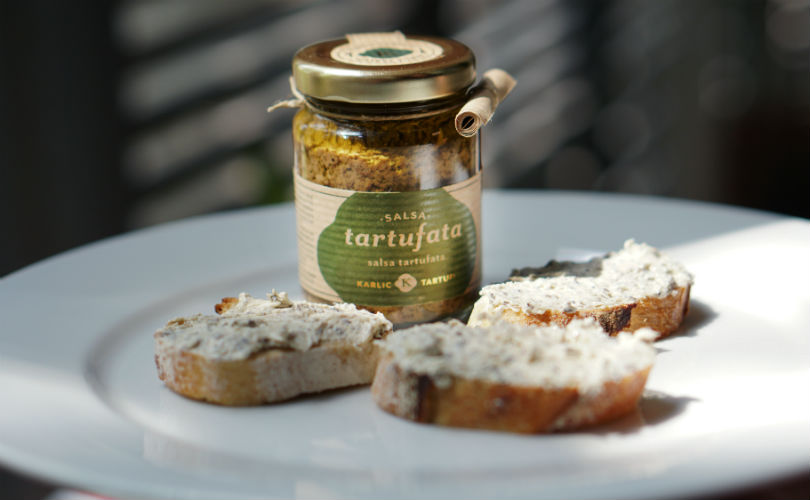 The Adriatic Pantry: Tartufata gourmet truffle spread; blend it with cream cheese and savour it with relish