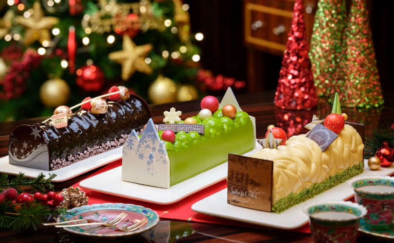 Christmas takeaways: three new logcake flavours from Pacific Marketplace
