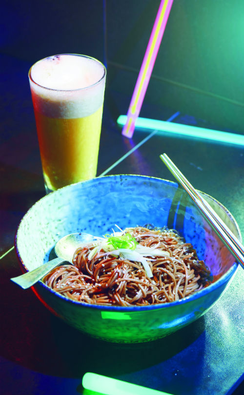 Jawa Juice and White Dragon Noodles / Photo Credit: SALT