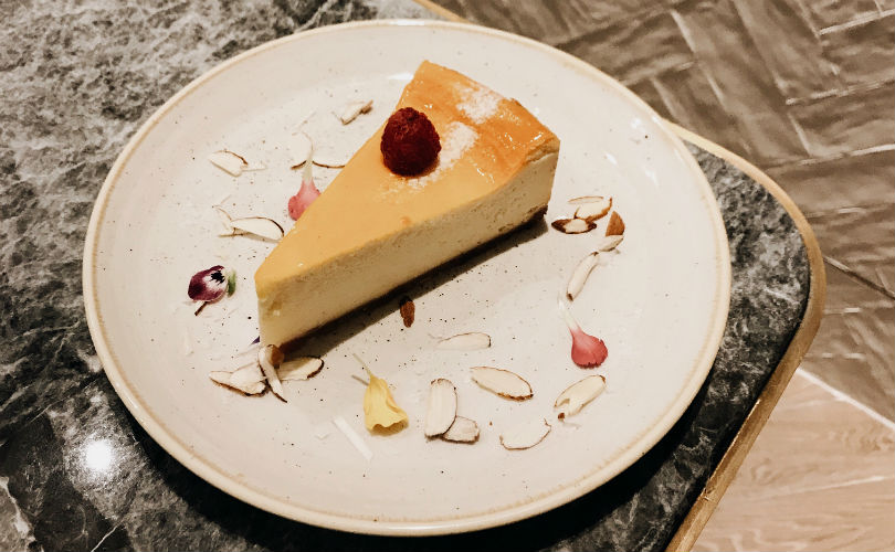 Salted Maple Syrup Cheesecake from Common Man Stan