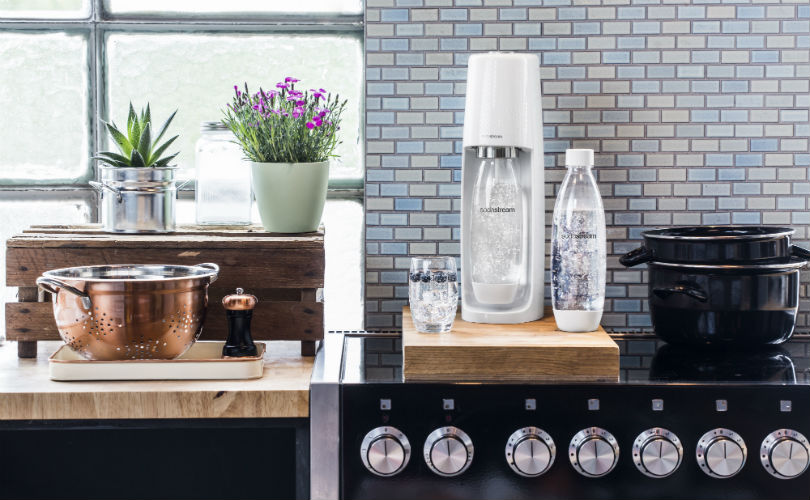 Have your very own sparkling water maker with SodaStream
