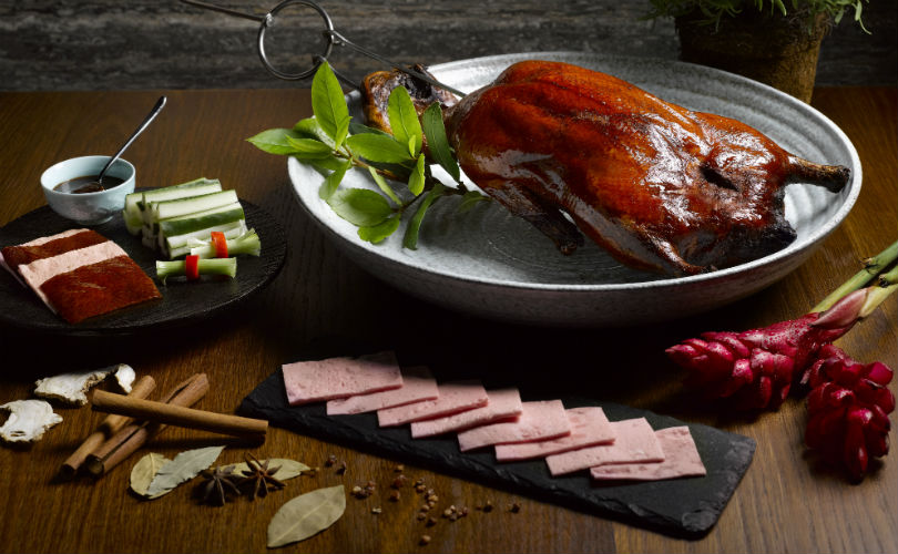 Majestic Restaurant - Roasted Ireland Silver Duck in Peking Style