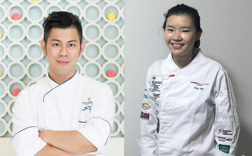 Chef Ben Goh Kai Chuen and Chef Chong Koo Jee