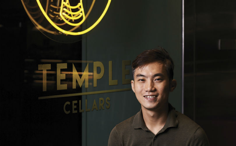 Head brewer of Brewlander John Wei