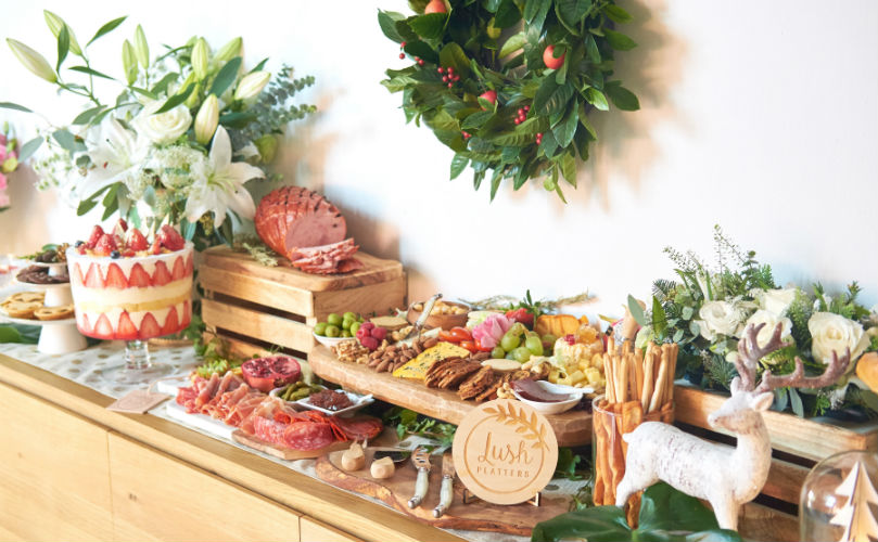 Grazing tables are a complete showcase of all that Lush Platters has to offer.