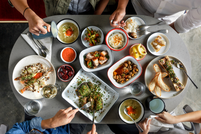 alittle tashi's dishes come from a variety of cuisines