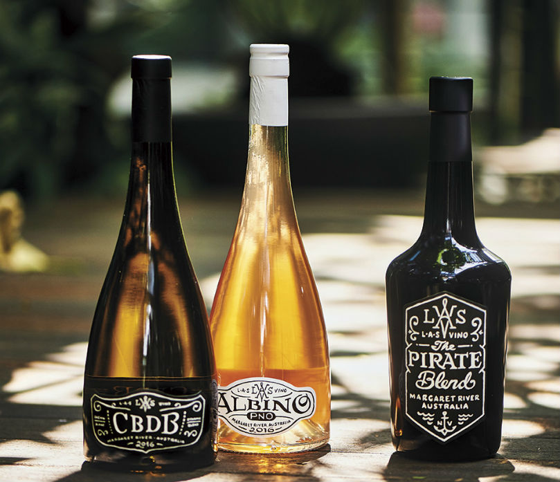 L.A.S. Vino's Chenin Blanc Dynamic Blend, Albino PNO and Pirate Blend