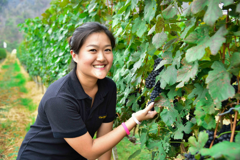 Nikki Lohitnavy, oenologist and second generation owner of GranMonte.