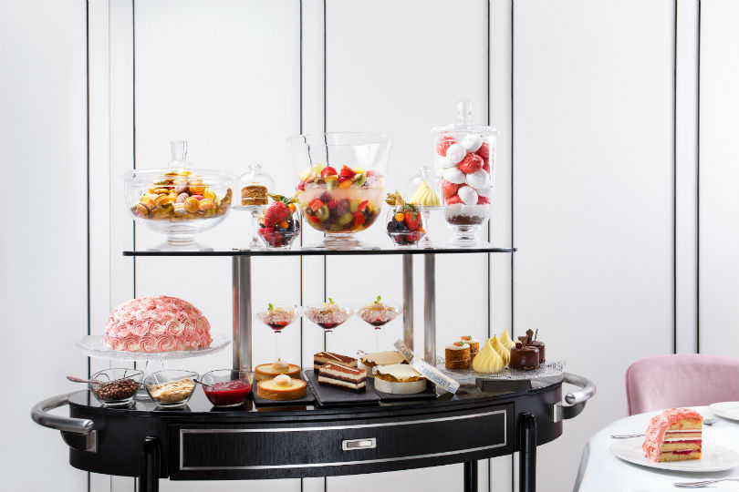 Tablescape's Dessert Trolley