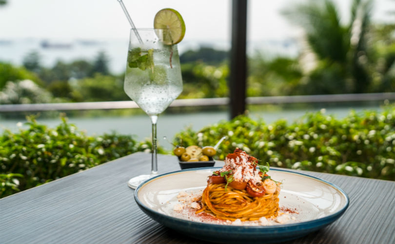 Spaghetti 'Alla Chitarra' with Lobster with Hugo