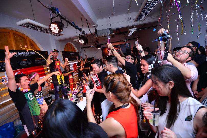 Singapore Cocktail Festival is the biggest cocktail event in Southeast Asia