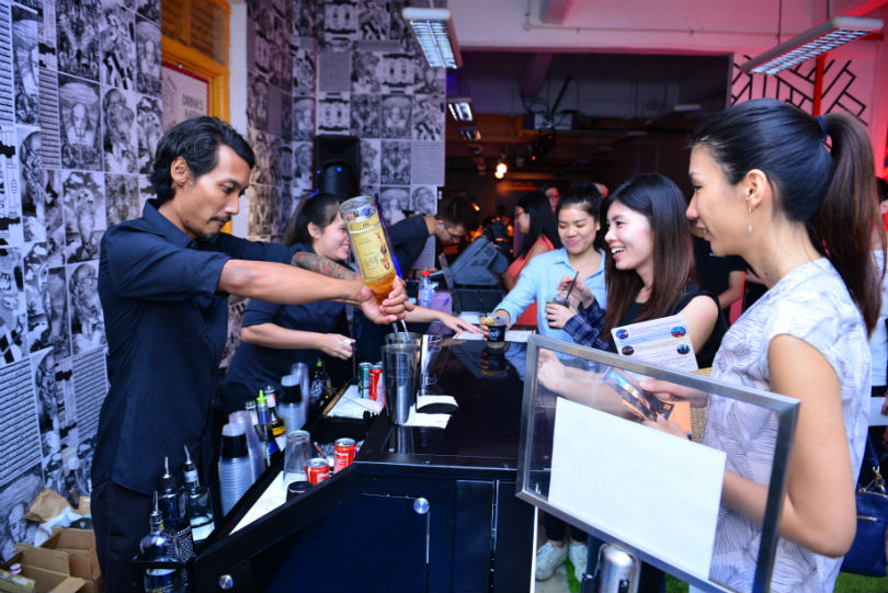 Lots of pop-up bars will be available at Singapore Cocktail Festival 2018.