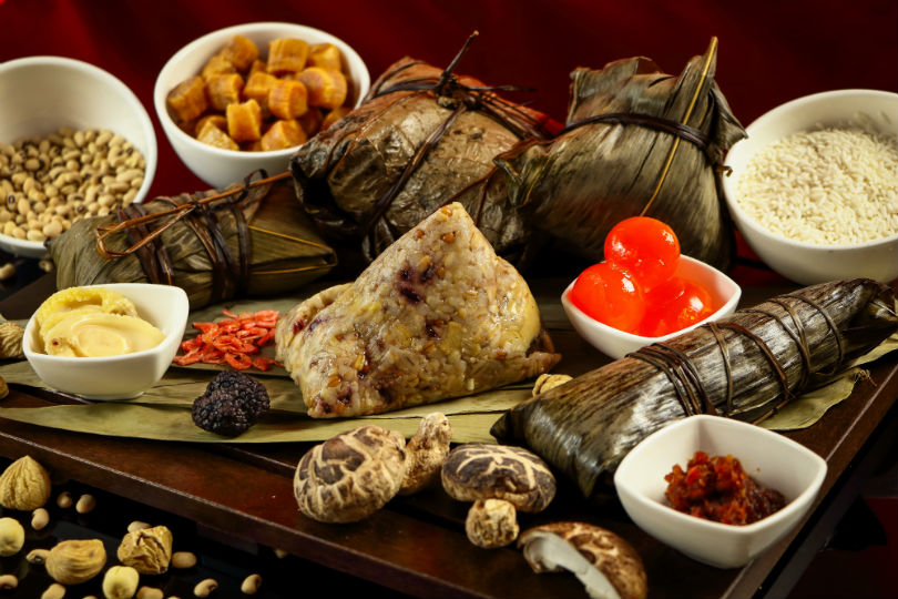 Celebrate Dragon Boat Festival with these gourmet rice dumplings! (ITALICISE AND CUT DOWN SOME)