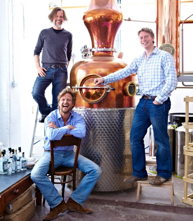 Jared Brown, Sam Galsworthy, Fairfax Hall Sipsmith Gin