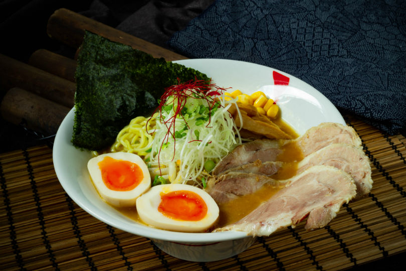 Special Sapporo Miso Ramen at Bishamon, a new casual restaurant serving ramen